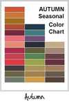 Summer SeasonalColor Chart