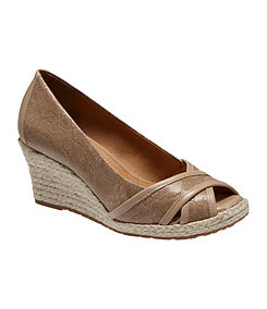 Nurture shoes have a wedge