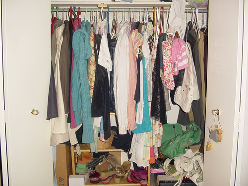 Perhaps Your Closet Is Not As Bad As This One. Even If Your Closet Looks  Fairly In Order, You Probably Are Not As Organized As You Would Like.