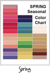 Autumn SeasonalColor Chart