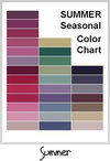 Spring SeasonalColor Chart